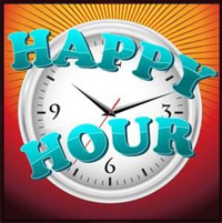 Happy Hour! 3pm - 6pm & 9pm - Close!